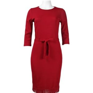 Knit Dress(L24631/RUBY)